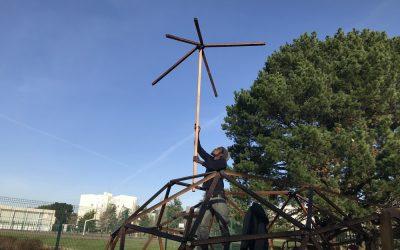 Dôme pépinière – Chantier participatif à Bellevue, Nantes